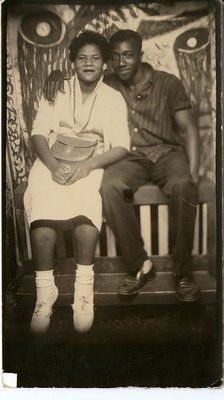 african americans in 1930's | ... Abstract Painted Backdrops in the 1930's African American Photo Studio
