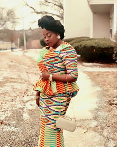 Photo by Kente Queen Ghana on February Image may contain: 1 person African Dresses For Kids, African Fashion Ankara, Latest African Fashion Dresses, African Dresses For Women, African Print Fashion, Africa Fashion, African Attire, African Women, Ghana Fashion