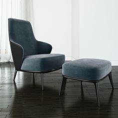 minotti-leslie with armrests