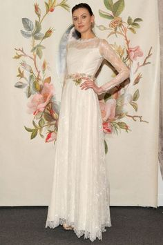 Claire Pettibone. Sort of a simpler version of Kate Middleton's dress, don't you think?
