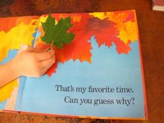Activities with Red Leaf, Yellow Leaf by Lois Ehlert
