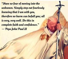 Inspirational Catholic Quotes, Spiritual Quotes, Inspiring Quotes, Catholic Prayers, Catholic Beliefs, Catholic Saints, Roman Catholic, Juan Pablo Ll, Pope John Paul Ii