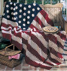 Stars and stripes :) crochet!