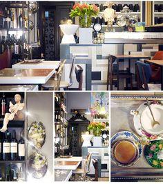 O The Small é um pequeno restaurante de Milão com um conceito tão interessante quanto o cardápio. Tip da Sister Amanda Cassou, o lugar tem décor inusitado com objetos garimpados em mercados de pulga e antiquários.