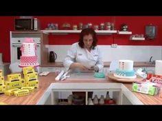 Originales recursos decorativos para tus tartas: Súper lazos / Superposiciones / Vaciados - YouTube