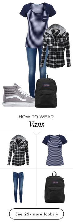 """Untitled #251"" by zumiez-skater on Polyvore featuring Levi's, maurices, Vans and JanSport"