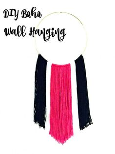 This DIY Boho Wall H