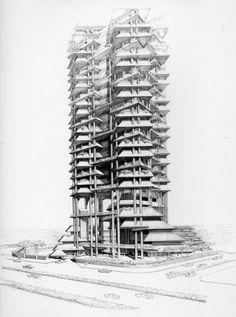 Wisma Dharmala Sakti #architecture #sketches