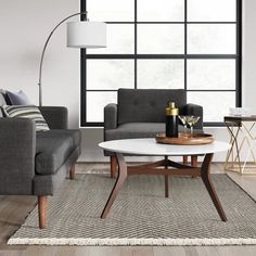 $139 Black/White Chevron Woven Area Rug - Project 62™ : Target