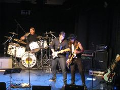 with the Big Wolf Band..Shaftsbury   Arts Centre
