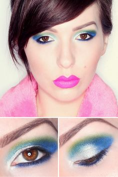 Makeup Monday: It's Electric! (Urban Decay's Electric Palette and Melt Cosmetics lipstick in Stupid Love)