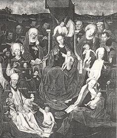 Anna en Joachem van Jeruzalem. Heilige Familie. Voor 'wie is wie': volgende afbeelding.