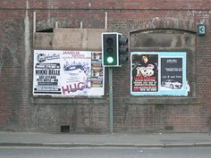 Flyposting - Wikipedia, the free encyclopedia
