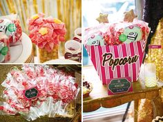 Operation Shower: A Star is Born Hollywood Baby Shower (Part 2 – Sweets Station)