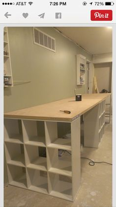 DIY table…