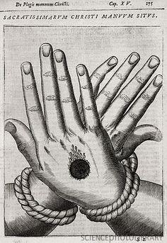 stigmata - 17th century