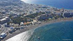 Ρόδος (Rhodos,Rhodes,Rodos) Παραλία Ελλη!! Elli beach!! Rhodes island Greece — στην τοποθεσία Elli Beach.