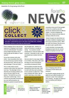 February 13 floristPro News
