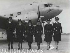 1940s - BOAC female cabin crew