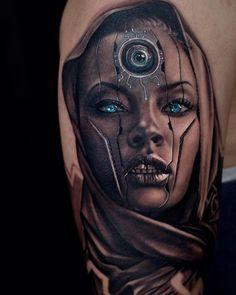 dubuddha-tattoo:  tattoo by  Jurgis Mikalauskas
