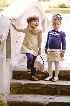 Chic Fall Styles #kid #fashion
