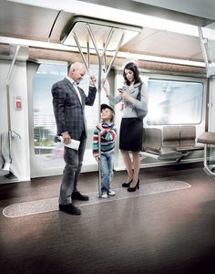 BWM DesignWorks USA Siemens Inspiro 2011 Transport Train Interior Nature