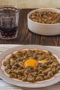 Objetivo culinario: Habas con huevos.