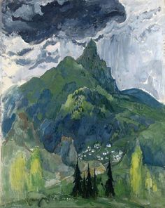 "Boris Anisfeld ""Valley in the Mountains"""