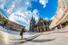 Cologne Germany: Roncalliplatz Köln, Domplatte, Kölner Dom