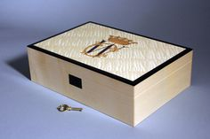 April 2011: Royal Wedding Gift- Marquetry wood inlay of on a Sycamore box.