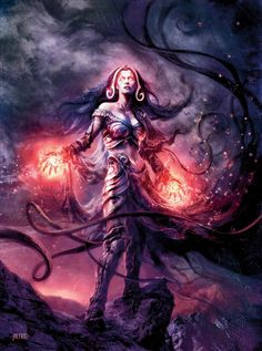 Magical art | magic the gathering poster by squeenny13 digital art photomanipulation ...