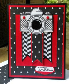 Claire Boradwater: Claire Creates Cards: So Many - Birthday Cards For Men, Man Birthday, Camera Cards, Candy Cards, Masculine Cards, Stampin Up Cards, Cardmaking, Banner, Greeting Cards