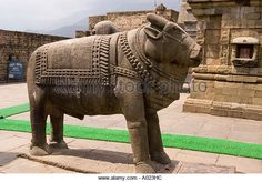 Baijnath or Bajinath Mahadev Hindu Shiva temple in Himachal Pradesh India - Stock Image