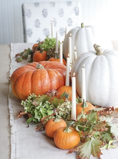 19 Festive Fall Table Decor Ideas That Will Last Until Thanksgiving via Brit + Co.