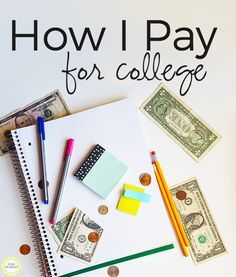 How I Pay for College: Insight from a real college student about how she is dealing with the price of college!