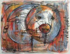 Artist : Lydia Hierro / Title : Borrego 1 / Dimensions : 40 x 50 cms / Price : MXN $6,500 / Status : Sold / Technique : Watercolor