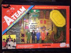 A-Team Combat Headquarters Set 1983 Galoob #Galoob