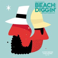 Various : Beach Diggin' Vol 1 -- The Perfect Soundtrack To Chill On The Beach -- Hand Picked By Guts & Mambo (LP, Vinyl record album) Vinyl Cover, Cover Art, Acid Jazz, Vinyl Cd, Music Radio, Cd Album, World Music, Me Me Me Song, Various Artists