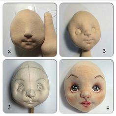 Rostro muñeca