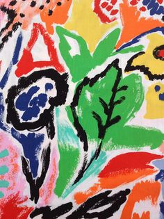 50s painterly flowers - Google Search