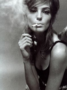 Be My Baby Daria Werbowy by Steven Meisel for Vogue Italia February 2004