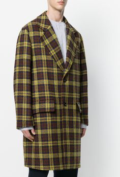 MARNI tartan overcoat from Farfetch (men, style, fashion, clothing, shopping, recommendations, stylish, menswear, male, streetstyle, inspo, outfit, fall, winter, spring, summer, personal, ad)