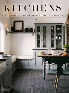 We're featured in the July issue of House and Garden! This is the Loft Shaker Kitchen, it sits at the top of our Cotes Mill showroom and has the most beautiful light shining onto it throughout the day.