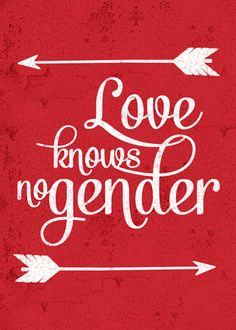 Love Knows No Gender Card from ThatGaySite.com! Gay, Lesbian, Transgender, Bisexual - love knows no gender!