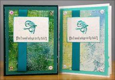 "Lakes Club Stamp Cards - Club Scrap   Twelve greeting cards from twelve 8-1/2 x 11"" papers!"