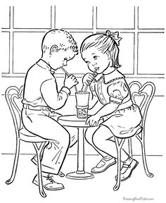 Kid Valentines Day Page to Color - Pictures, crafts, hearts, cards and cupid Valentines coloring pages, sheets and pictures. Summer Coloring Pages, Valentine Coloring Pages, Disney Coloring Pages, Animal Coloring Pages, Free Printable Coloring Pages, Coloring Book Pages, Print Pictures, Colorful Pictures, Courtly Love