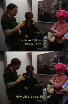 bah the osbournes need to come back to tv!