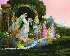 The Bride by James C Christensen