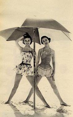 Cute vintage bathing suits