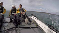 Un #KiteFoil tracté par un #Diam24 ? Welcome Onboard, forward to 2017 ! #Brest